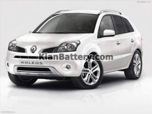 Renault Koleos 2 300x225 باتری رنو کولیوس