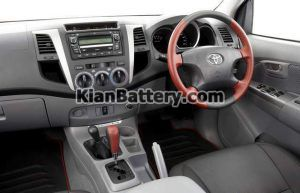 Toyota Hilux 6 300x193 باتری تویوتا هایلوکس