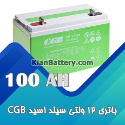باتری 100 آمپر ساعت یو پی اس CGB