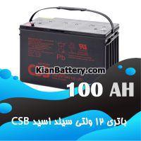 باتری 100 آمپر ساعت یو پی اس CSB
