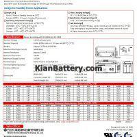 مشخصات باتری 65 آمپر ساعت یو پی اس CSB