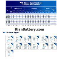 مشخصات باتری یو پی اس نیومکس