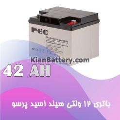 باتری 42 آمپر ساعت یو پی اس پرسو