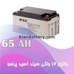 باتری 65 آمپر ساعت یو پی اس پرسو