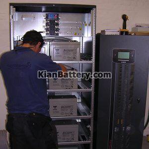 نصب یو پی اس 1 300x300 راهنمای انتخاب و خرید بهترین باتری یو پی اس