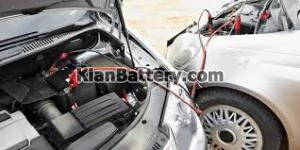 باتری به باتری 300x150 راهنمای خرید و کار با شارژر باطری ماشین