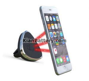 هولدر مغناطیسی 300x274 راهنمای خرید هولدر موبایل برای ماشین