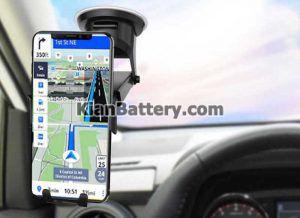 هولدر مپ 300x218 راهنمای خرید هولدر موبایل برای ماشین