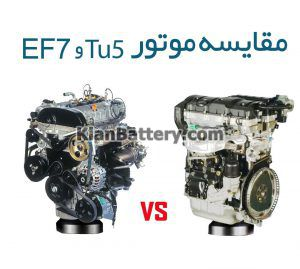tu5 vs ef7 300x269 بررسی موتور های تولید ایران خودرو