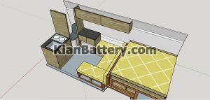 طراحی کمپر 300x143 ساخت و تجهیز کمپر مسافرتی (تبدیل ون به کمپر)