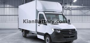 کمپر Mercedes Benz Luton Box Van 300x145 معرفی انواع ماشین های کمپر و ون های موجود در ایران