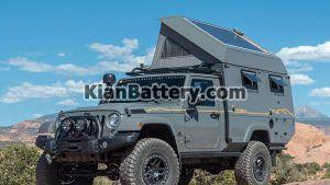 jeep wrangler outpost ii camper2 300x169 معرفی انواع ماشین های کمپر و ون های موجود در ایران