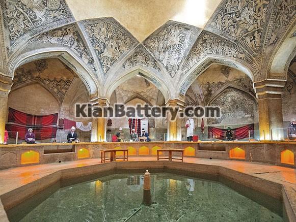 حمام وکیل راهنمای سفر به شیراز در استان فارس