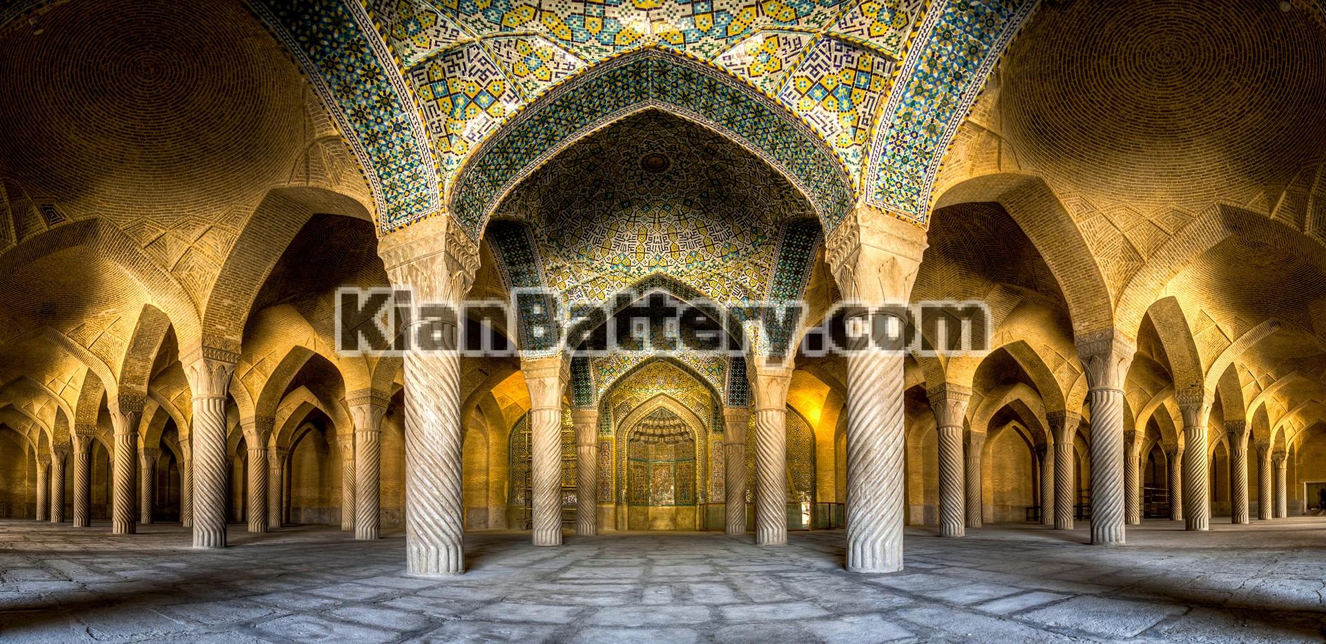 مسجد وکیل شیراز راهنمای سفر به شیراز در استان فارس