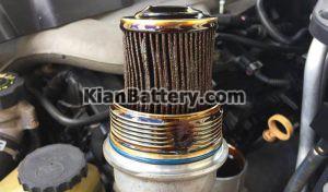 خرابی فیلتر روغن 300x176 همه چیز درباره فیلتر روغن موتور خودرو (زمان تعویض، راهنمای خرید)
