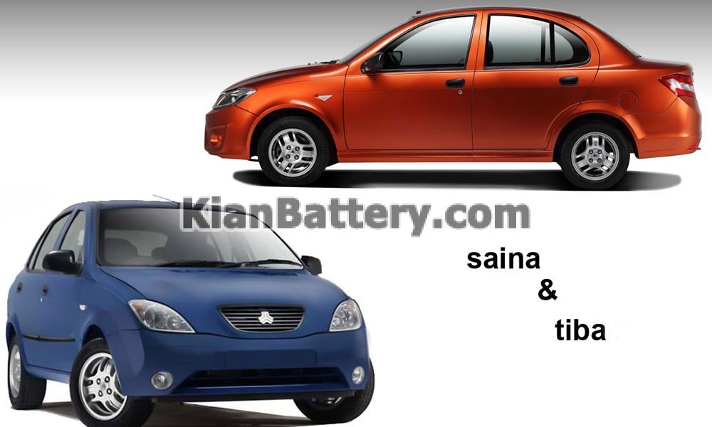 ساینا و تیبا معنی فیس لیفت خودرو چیست؟