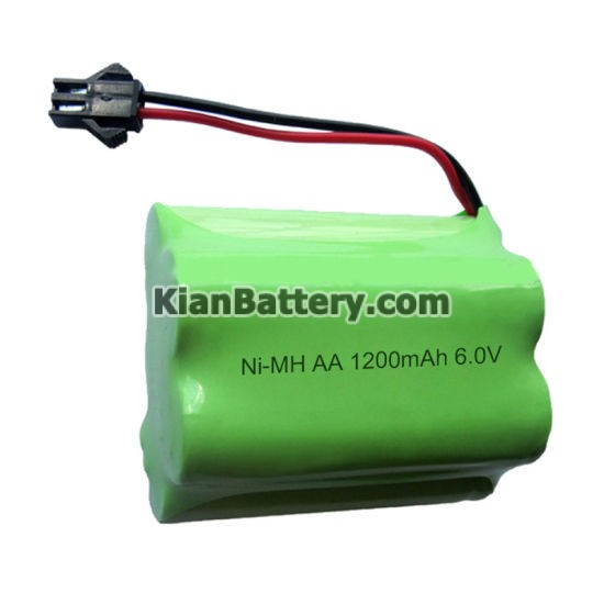 AA 1200mAh 6V Rechargeable NiMH Battery Pack for Street Light باتری نیکل متال هیبرید فلز و همه چیز درباره آن