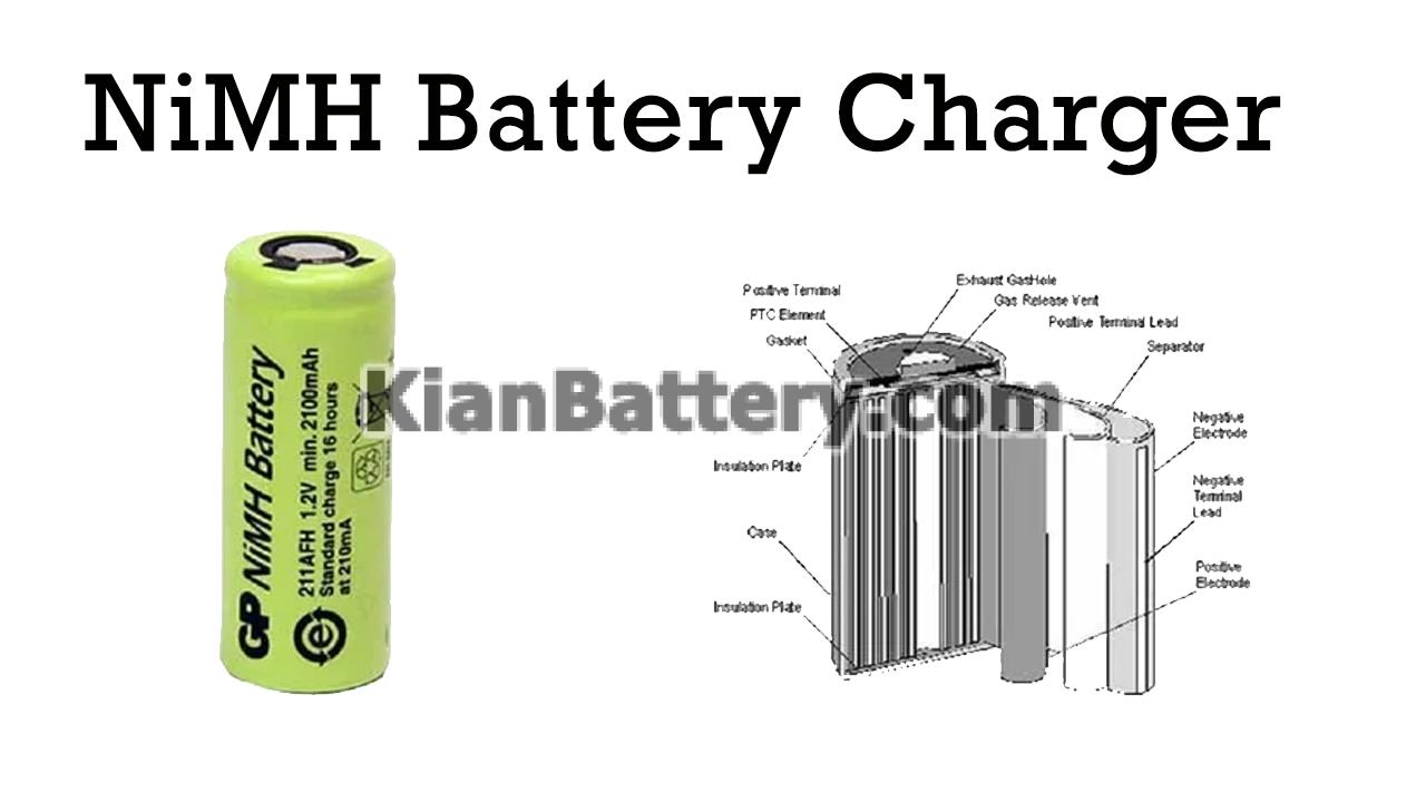 Automatic NiMH Battery Charger Circuit باتری نیکل متال هیبرید فلز و همه چیز درباره آن